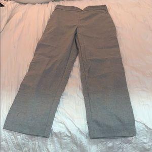 Zara basics gray pants